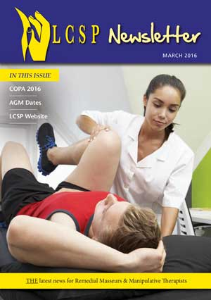 LCSP Newsletter March 2016