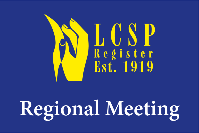 Next regional meeting