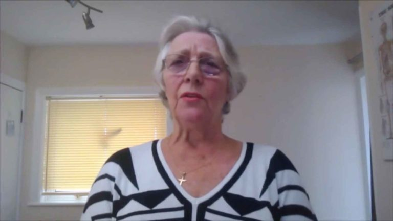 One of members, Beryl Harper talks about returning to work …..