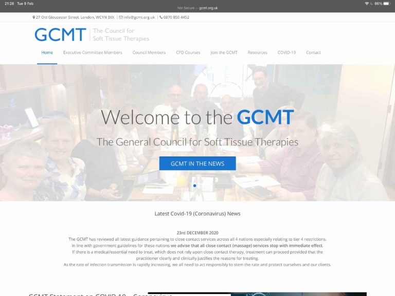 General Council for Massage Therapies