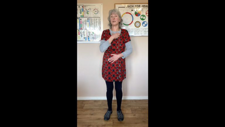 Touch For Health Switching On Exercises