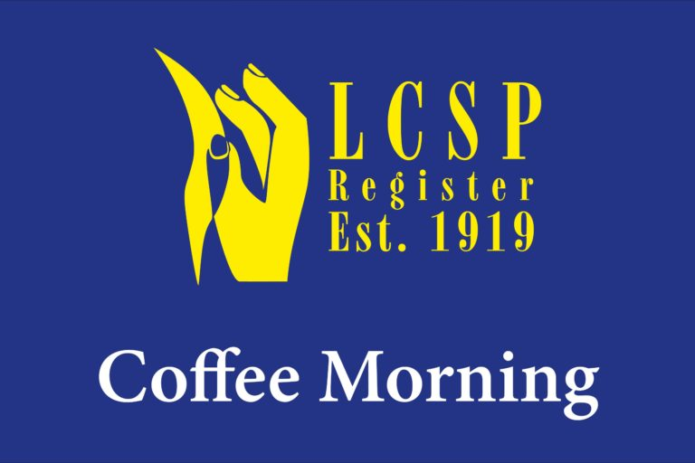 Next zoom coffee morning for members